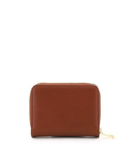 A.P.C. Emannuelle Leather Wallet - Brown