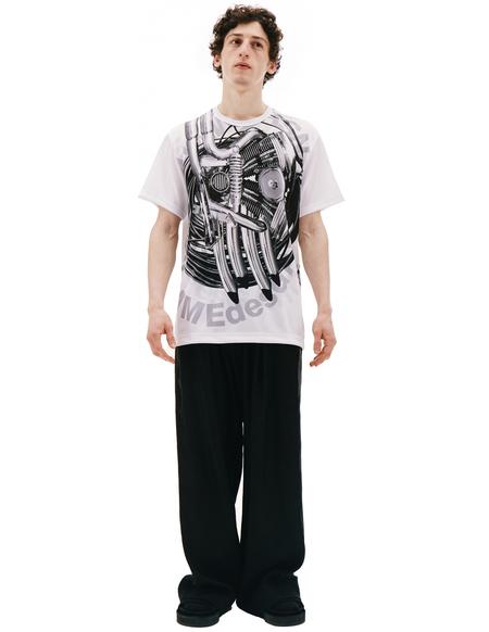 Comme des Garcons Homme plus White Printed T-shirt