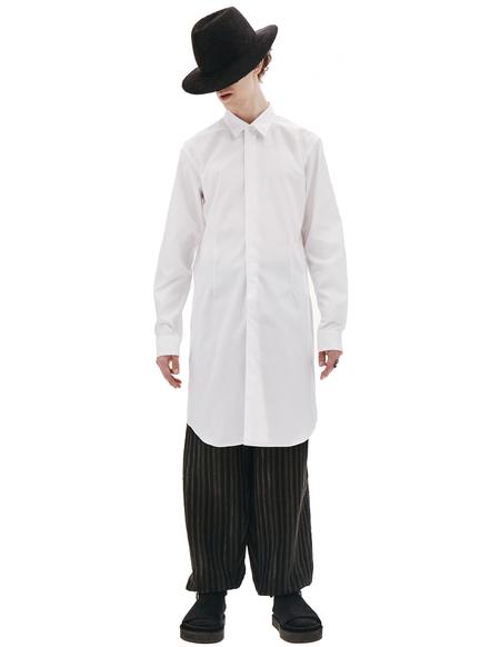 Comme des Garcons Homme plus White Cotton Shirt