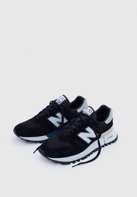 New Balance Green Logo Pack Shoes - Black/teal