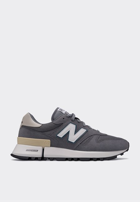 New Balance Green Logo Pack Shoes - Grey/teal