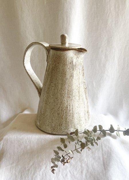 WILD BOWER STUDIO Speckled Coffee Pot