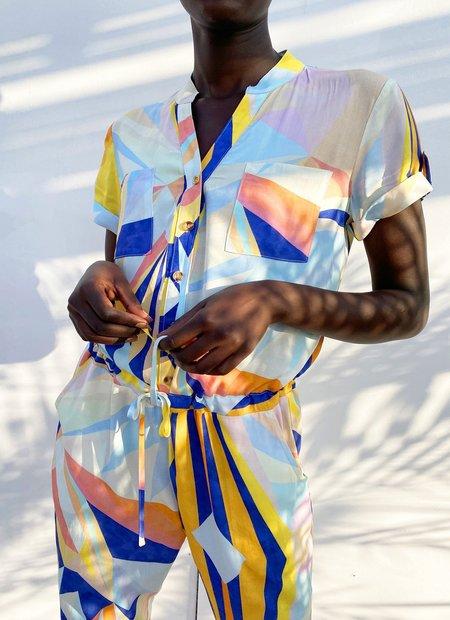 NEVER FULLY DRESSED Diamond Jumpsuit - Multi