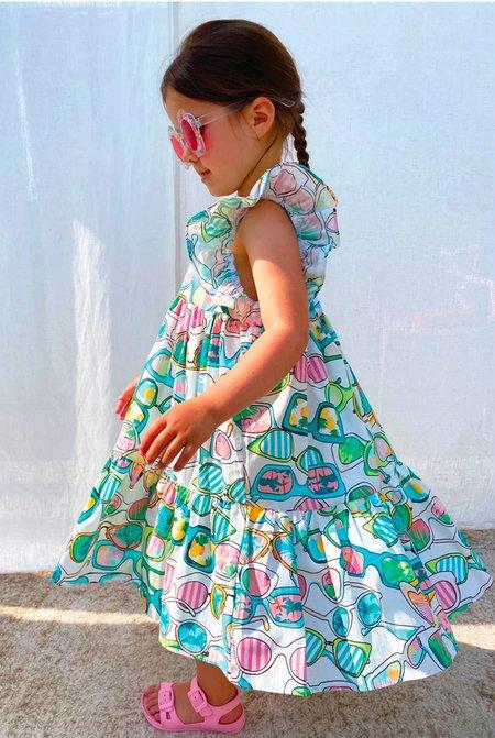 Kids NEVER FULLY DRESSED NFD Sunnies Trapeze Dress - Multi