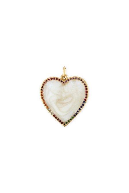 Alexa Leigh Rainbow Heart Charm jewelry