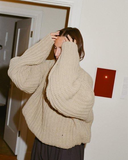 Baserange Mea Pullover - Camel