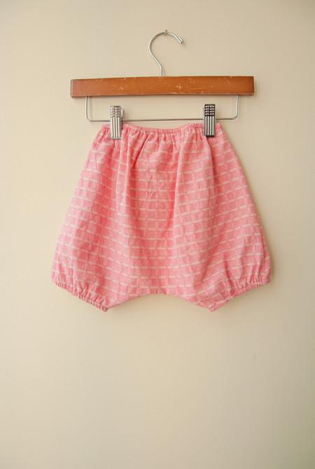 Kids Boy+Girl Poppy Bloomer - Pink Check