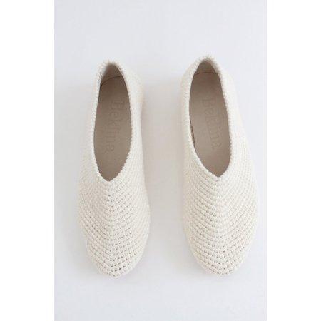 Beklina Crochet Ballet Flats - Natural