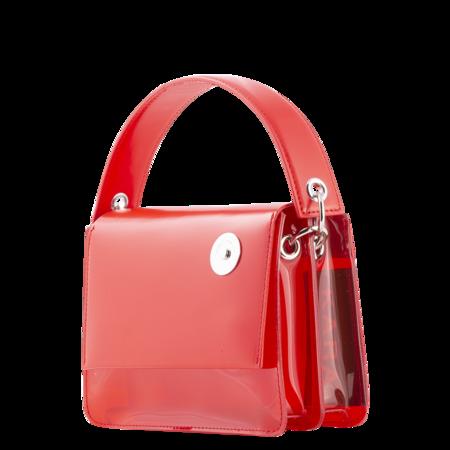 KARA Baby Pinch Shoulder Bag - Red