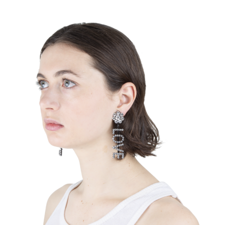 Ashley Williams Love Earrings - CLEAR