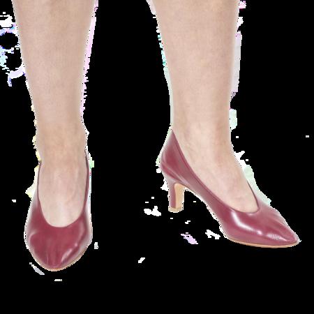 Martiniano Party Heel - Wine