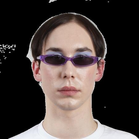 ROBERI AND FRAUD Frances Sunglasses - Purple