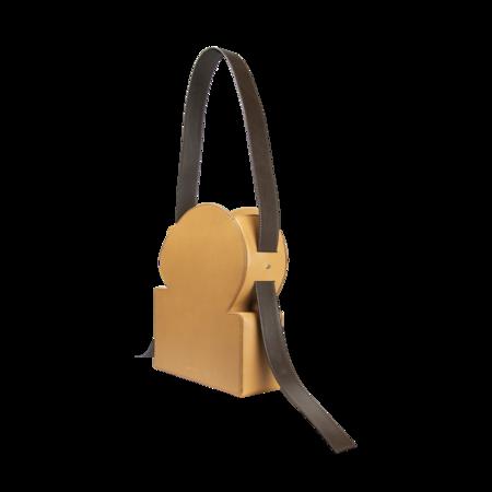Rejina Pyo Leather Toastie body Bag  - Tan
