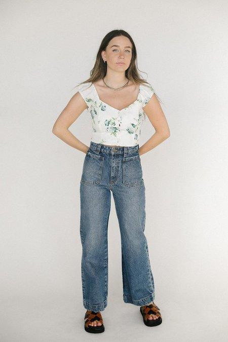 Rolla's Erin Hydrangea Top - White