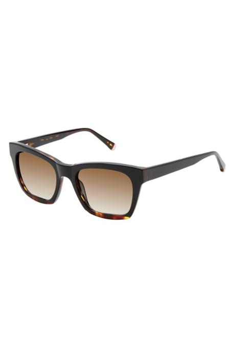 Kate Young for Tura Hana Sunglasses - Black Tortoise