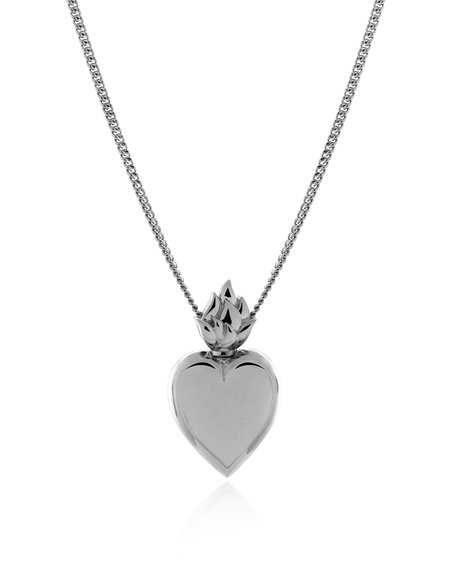 Mineraleir Rodin Heart Necklace