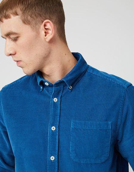 Bhode x Brisbane Moss Shirt - Airforce Blue