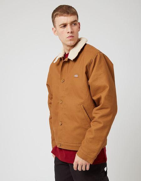 Dickies Duck Canvas Deck Jacket - Brown