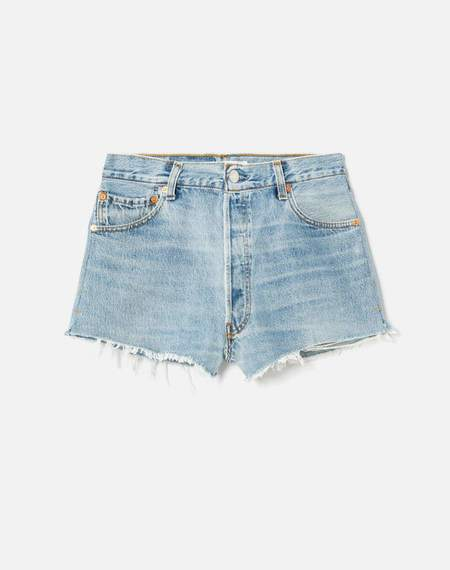 The RE/DONE Levi's The Short - Upcycled Denim