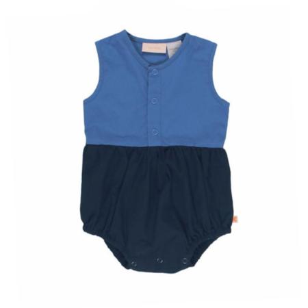 KIDS Tinycottons Color Block Onepiece - Blue