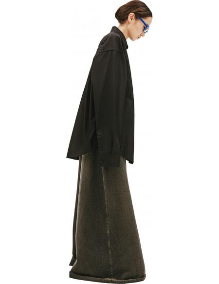 Balenciaga Printed FREE Black Shirt