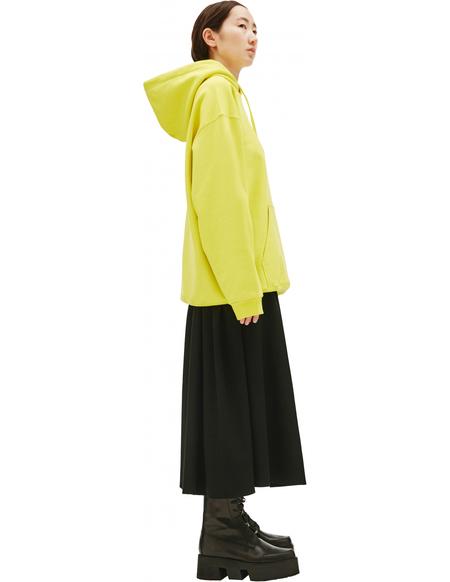 Balenciaga Yellow Hoodie Balenciaga Logo