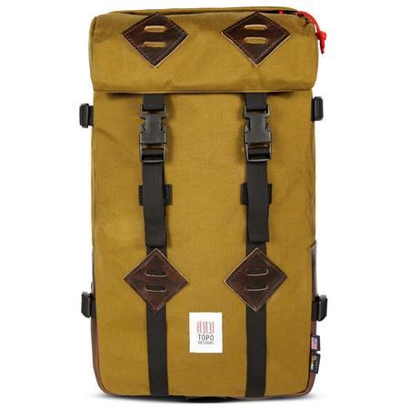 Topo Designs Klettersack - Duck Brown/Dark Brown Leather