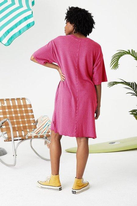 back beat rags Hemp Slater Dress - Virtual