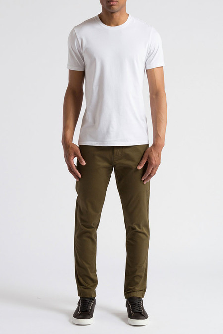 Wings + Horns Woven Tokyo Pant - Olive