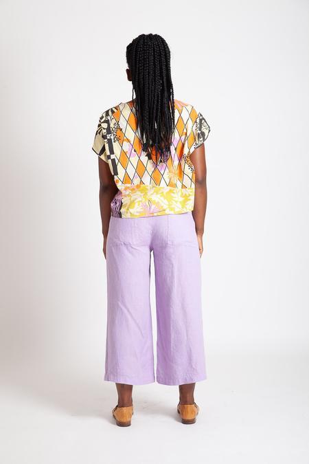 Gravel & Gold Set Pants - Verbena