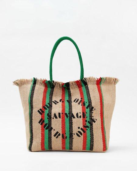 Clare V. Flat Bourgeoisie Sauvage Market Bag