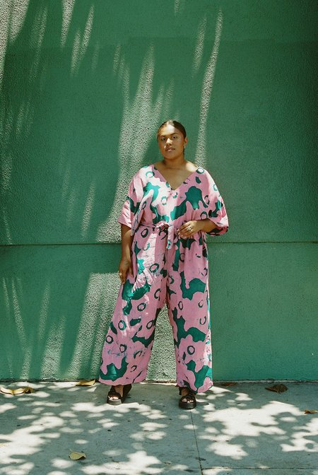 Osei-Duro Easy Jumpsuit - Pool Party
