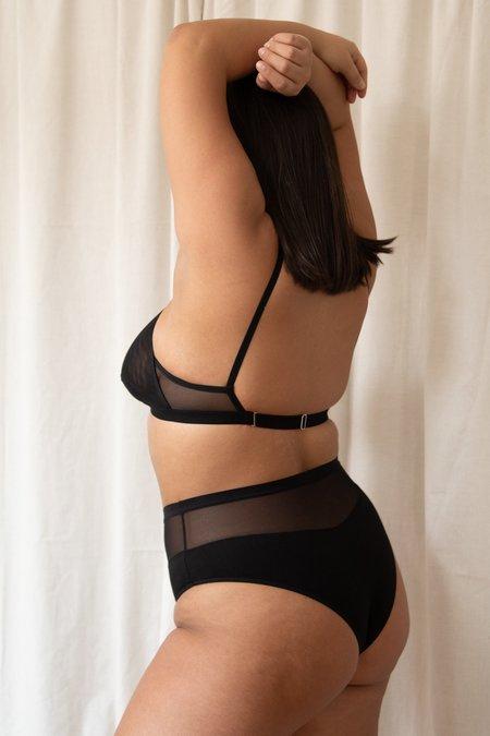 Mary Young Logan High Cut Bikini - Black