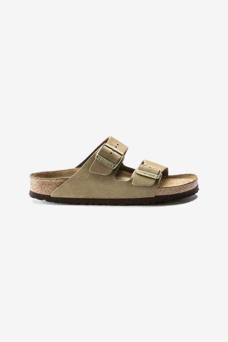 Birkenstock Arizona SFB Sandals - Faded Khaki