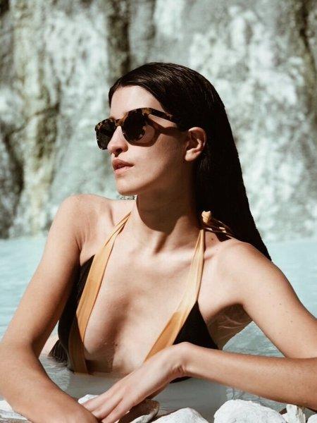 Unisex Officina del Poggio Antica Occhialeria for ODP Sunglasses - Tortoise/Gray