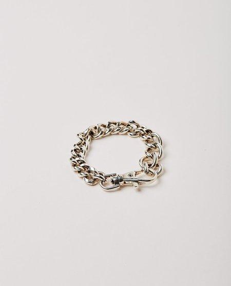 Martine Ali Davis Curb Bracelet - silver