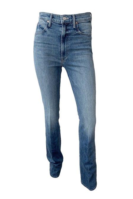Mother Denim High Waist Smokin' Double Heel Jeans - Beyond the Sky