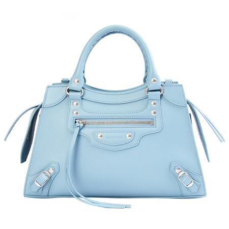 Balenciaga Blue Neo Classic City Small Top Handle Bag