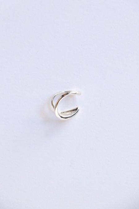 Faris Double Ear Cuff Mini earrings - Sterling Silver