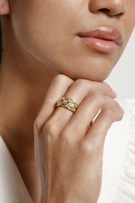 Wolf Circus Clara Ring - Green/Gold