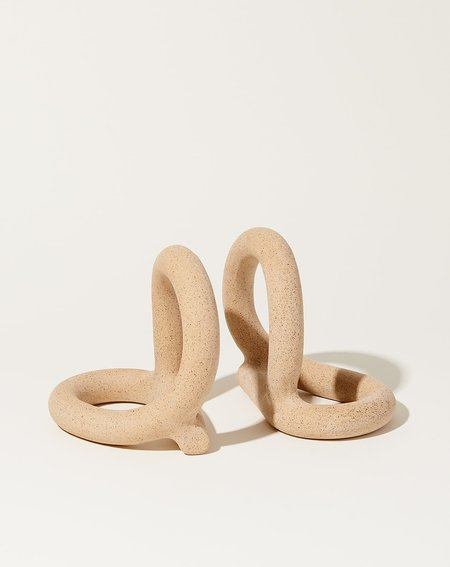 Sin Bacchus Bookends - Speckled