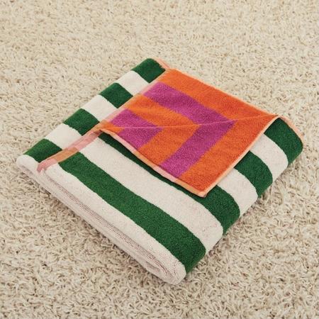 Dusen Dusen Bath Towel - Tulip Stripe