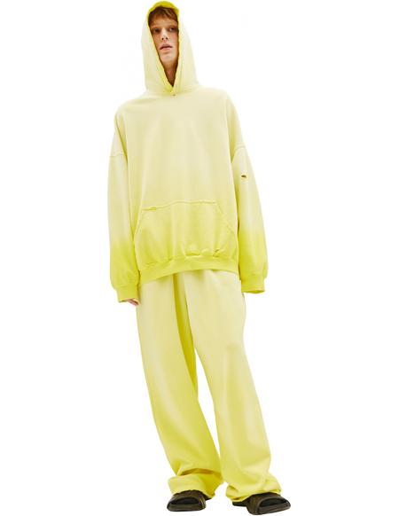 Balenciaga Yellow Oversized Hoodie