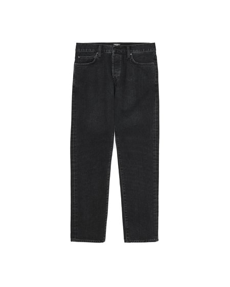 CARHARTT WIP Klondike stone Washed Pant - Black