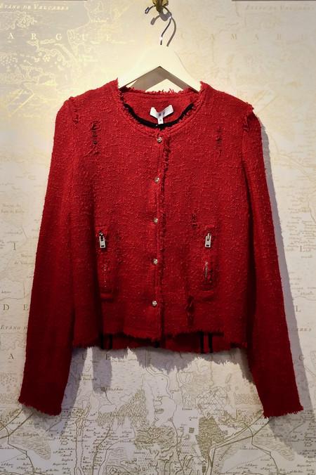 IRO 'Agnette' Snap Front Jacket