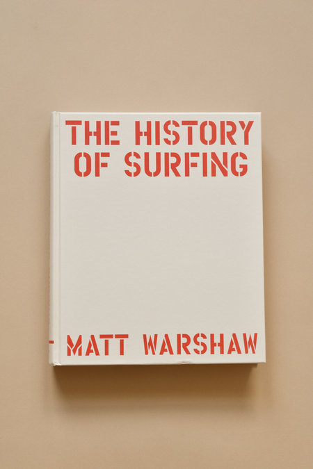 """Chronicle """"The History of Surfing"""" by Matt Warshaw Book"""