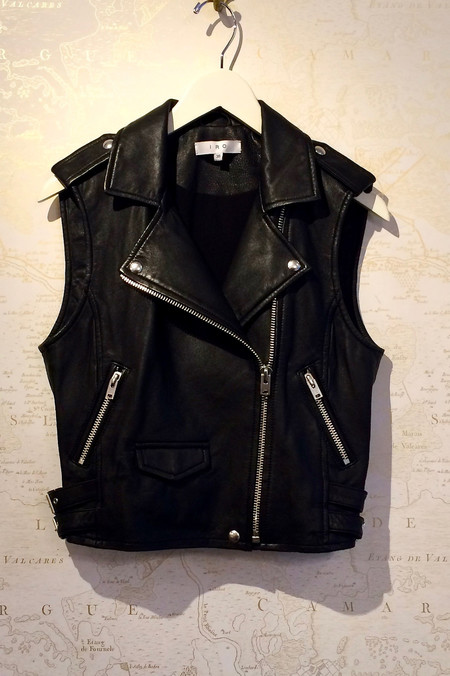 IRO Leather 'Harri' Vest