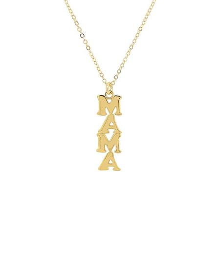Jurate MAMA Vibes Necklace - Gold