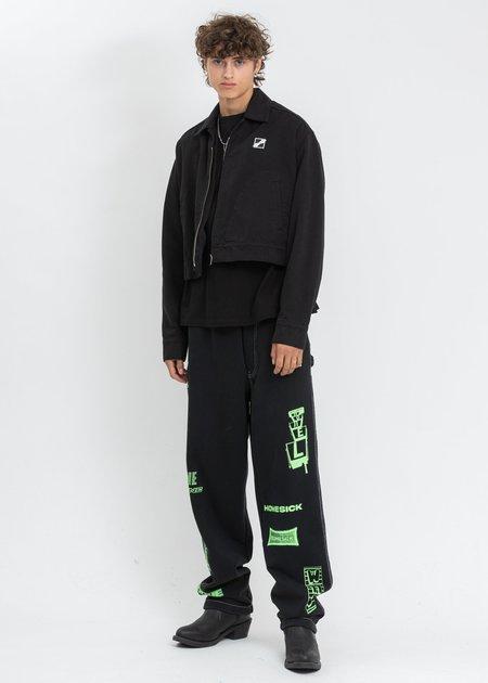we11done Cavan Short Jacket - Black