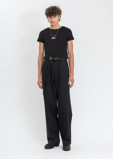 ESTH. Gloomy Pants - BLACK